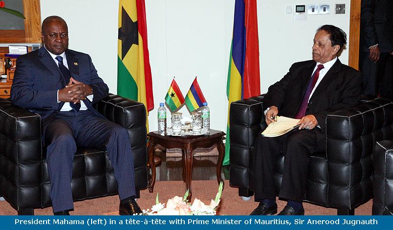 Ghana & Mauritius waive visa requirements